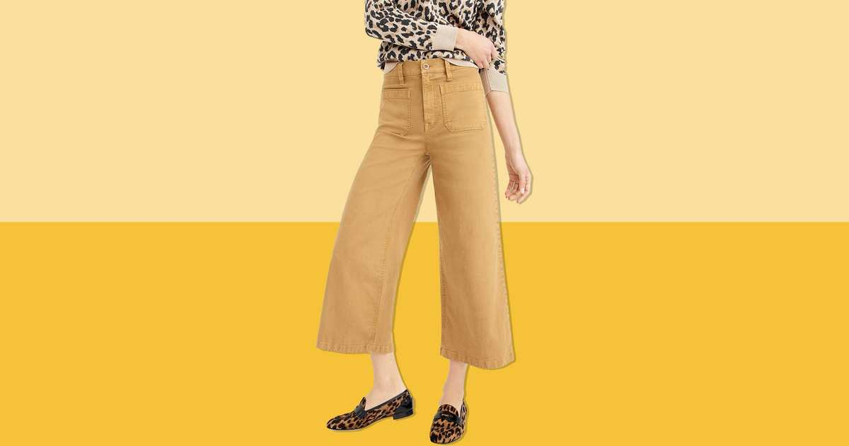 These High-Waisted, Cropped J.Crew Pants Are a Mere $22