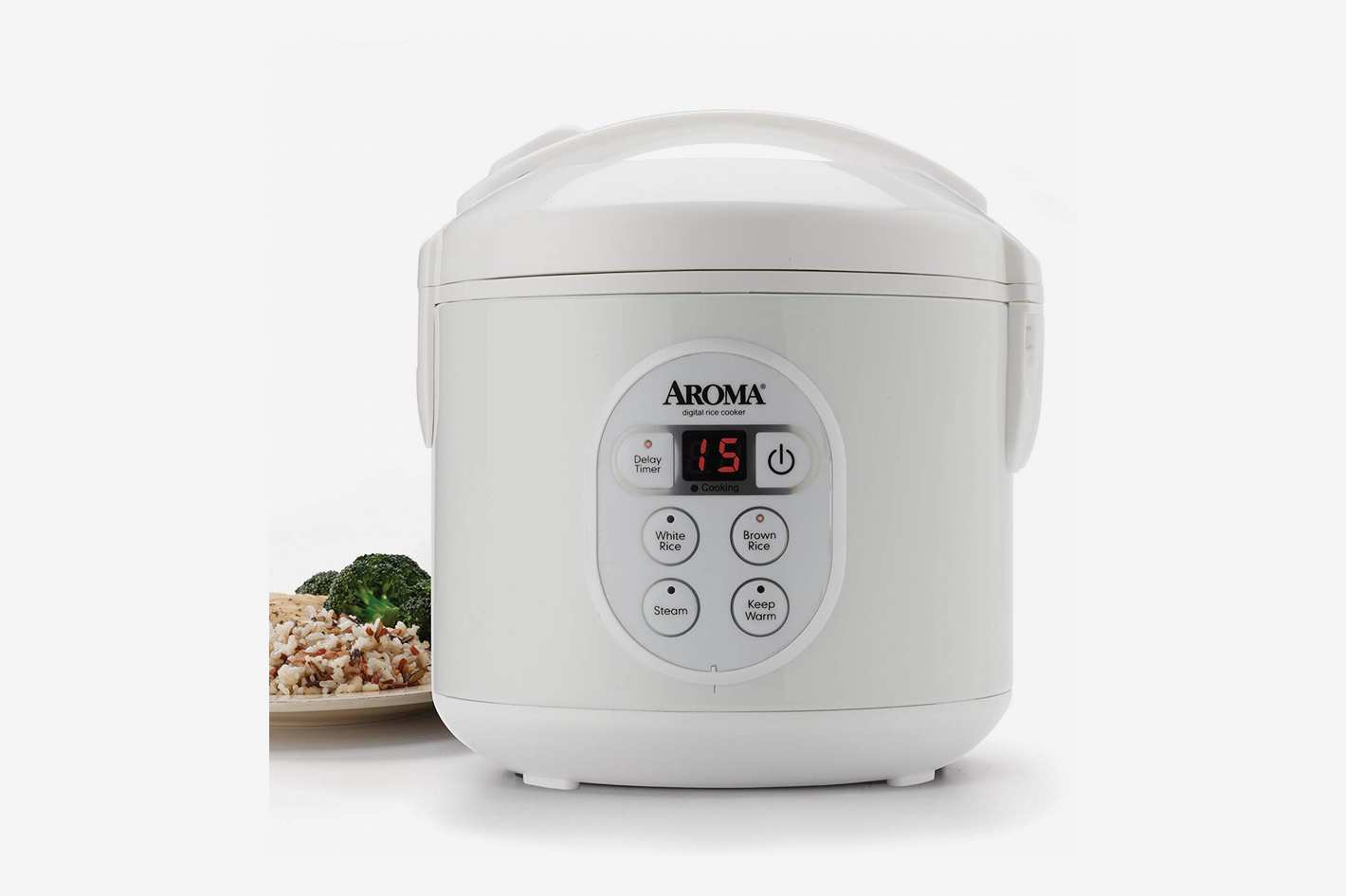 Aroma Housewares Digital Rice Cooker and Food Steamer