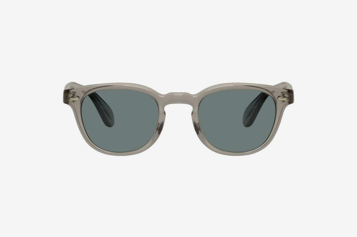 Oliver Peoples Grey Sheldrake Sunglasses