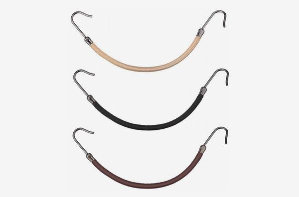 BinaryABC Ponytail Hooks Holder Bungee Bands