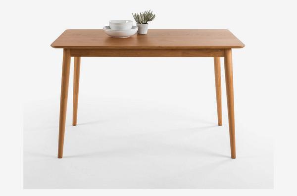 Zinus Jen Mid-Century Modern Wood Dining Table / Natural