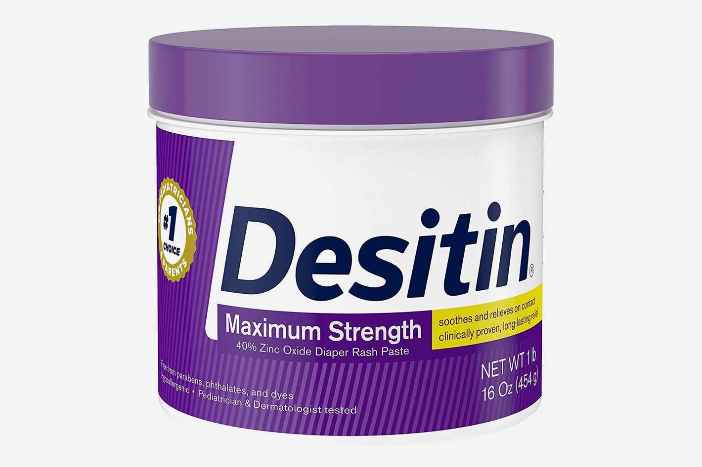 Desitin Maximum Strength Baby Diaper Rash Cream, 16 oz.
