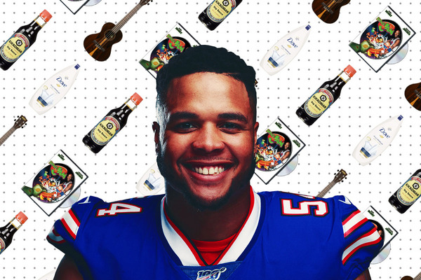 What Eddie Yarbrough of the Buffalo Bills Can't Live Without