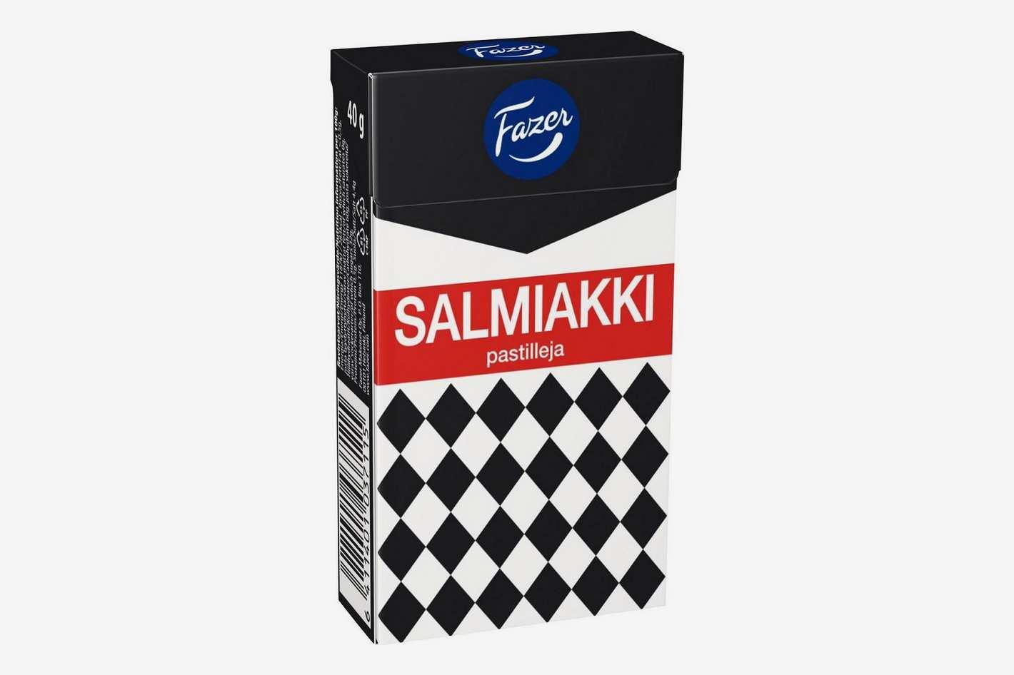 Fazer Original Salty Liquorice, 4 Pack