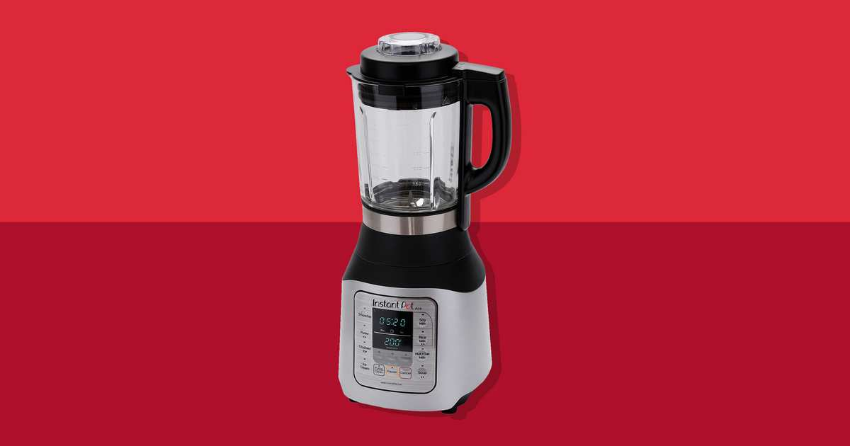 This Easy-to-Use Instant Pot Blender Cooks, Blends, and Purées — and Is the Cheapest We've Ever Seen
