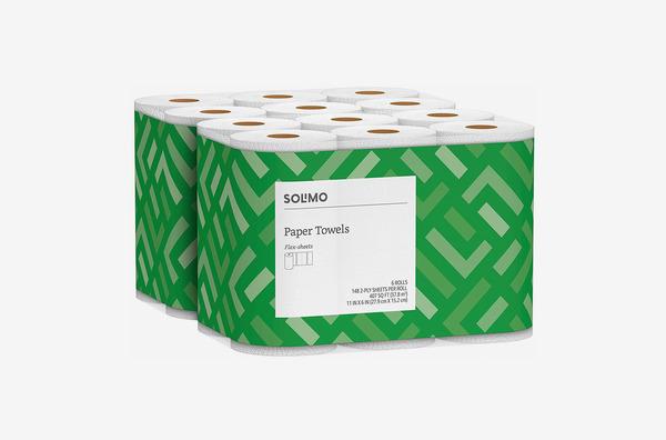 Solimo Basic Flex-Sheets Paper Towels