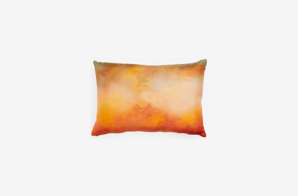Treasure & Bond Print Silk Accent Pillow