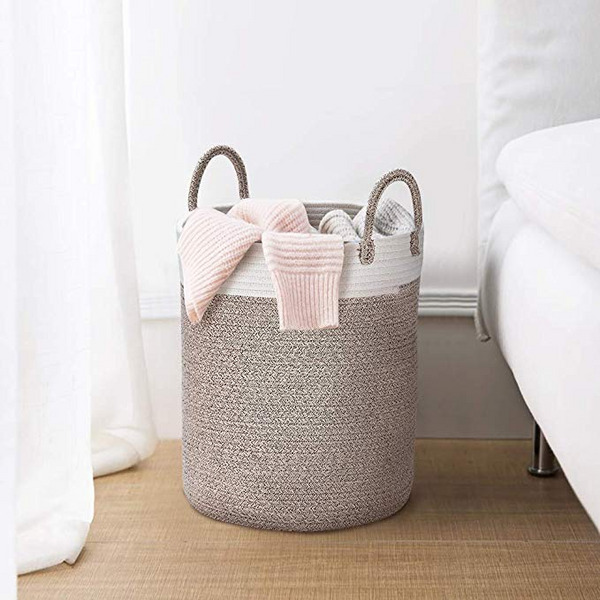 La Jolie Muse Rope Storage Basket