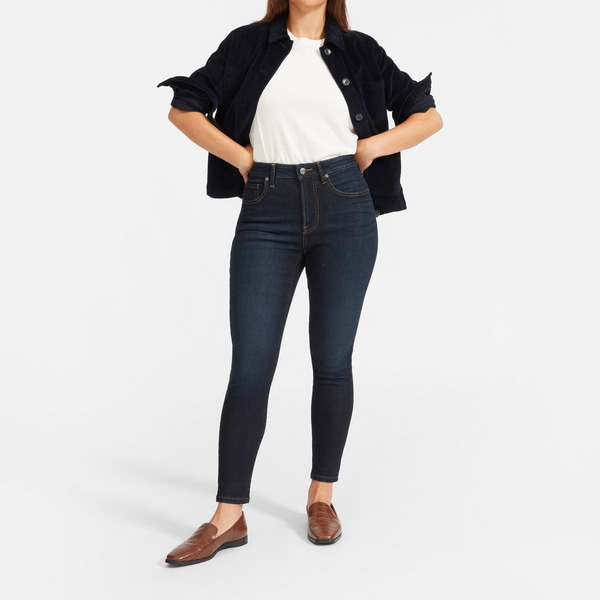 Everlane The Curvy Authentic Stretch High-Rise Skinny Jean