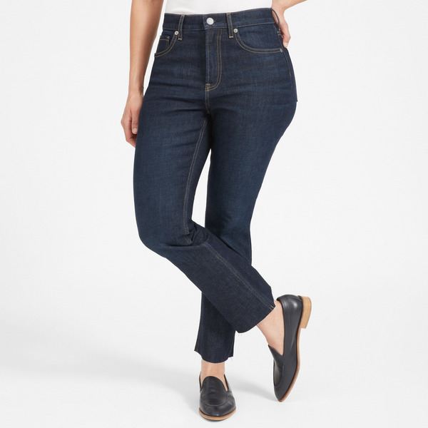 Everlane Kick Crop Jean