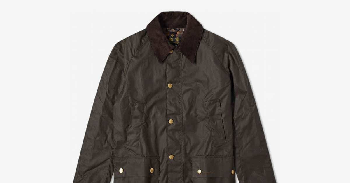 This Seldom-On-Sale Barbour Wax Jacket (In A Heritage Shade) Is Over 25 Percent Off