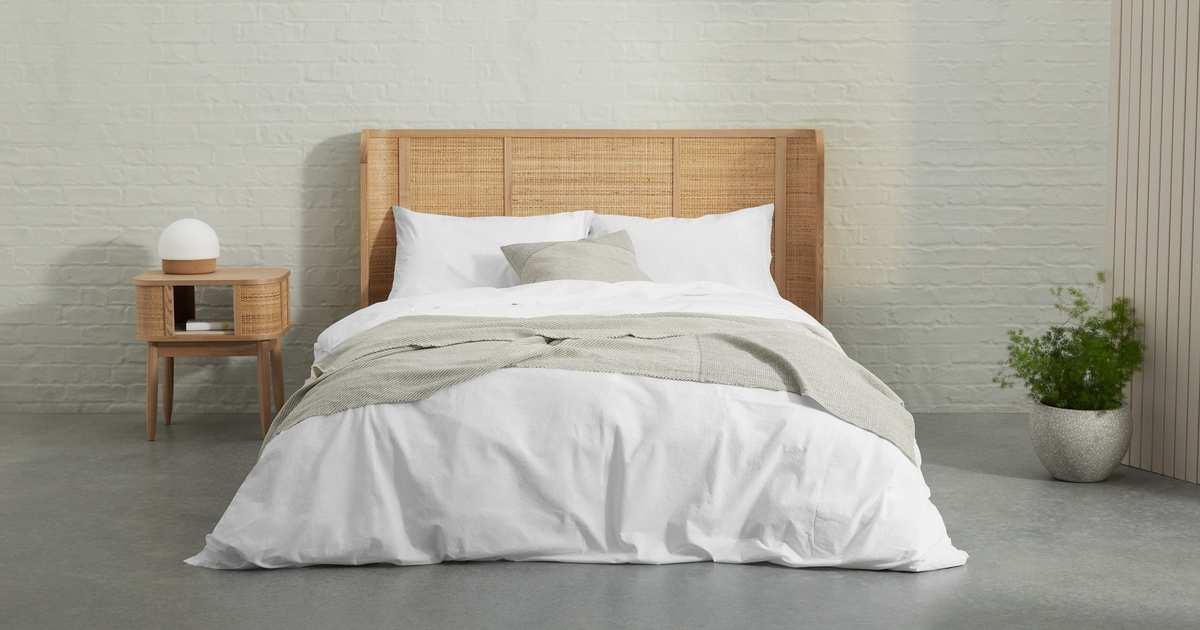 An Organic Cotton Duvet Set From Made, At A Serious Discount