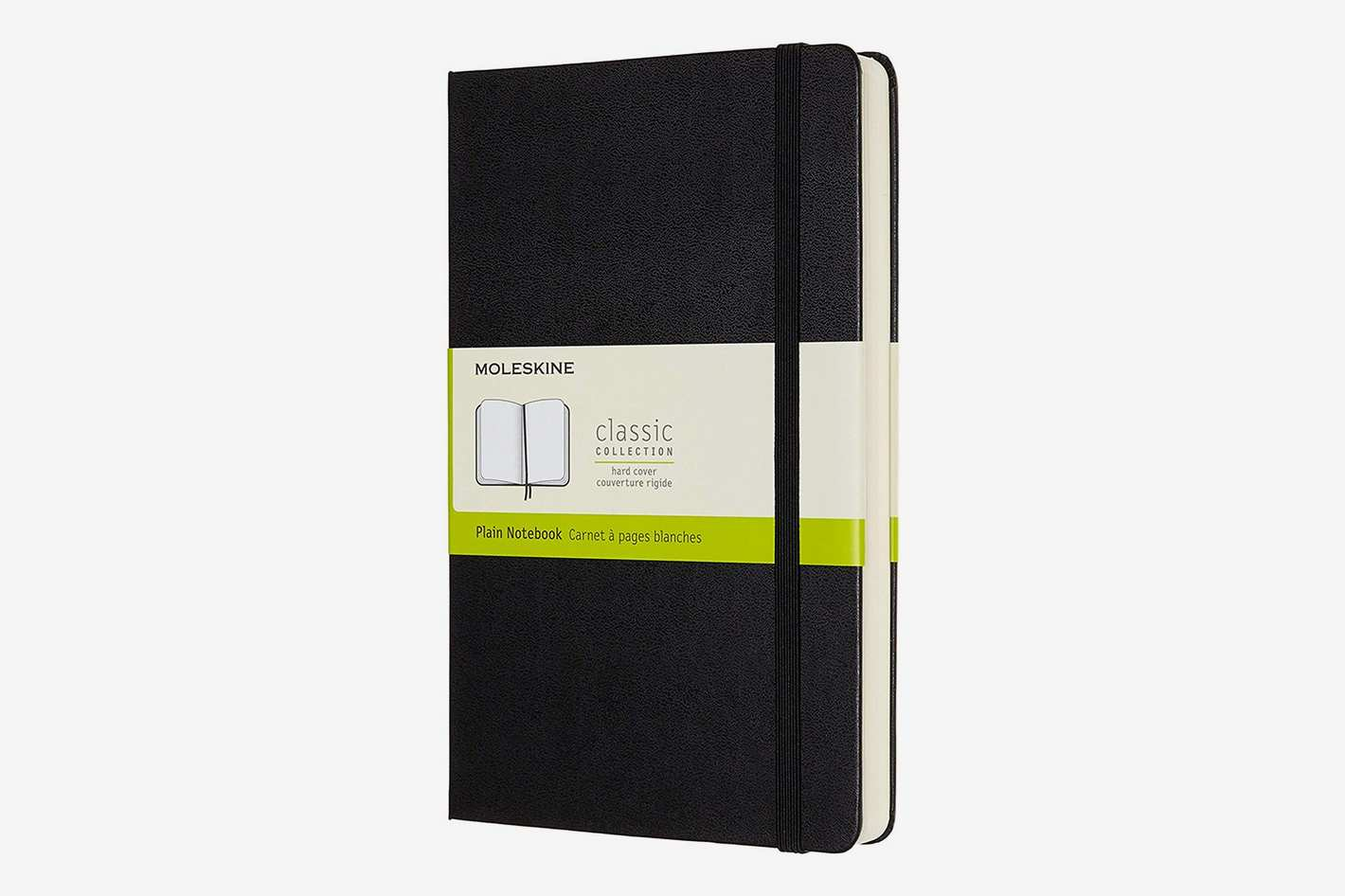 Moleskine Classic Expanded Plain Paper Notebook Hard Cover XL