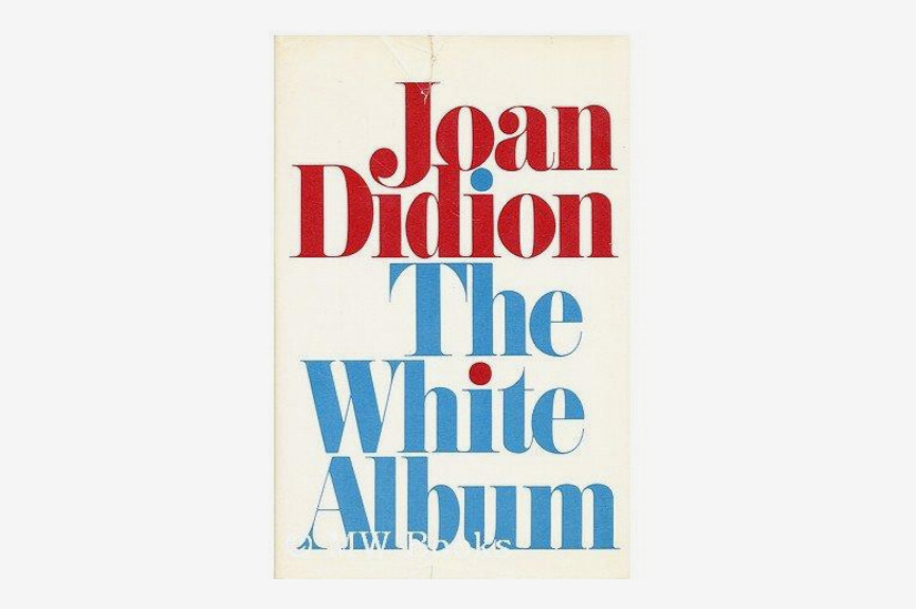 'The White Album' by Joan Didion, First Edition