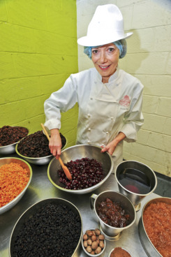 The royal cake-baking! Every piece of that dried fruit is famous and news-worthy!