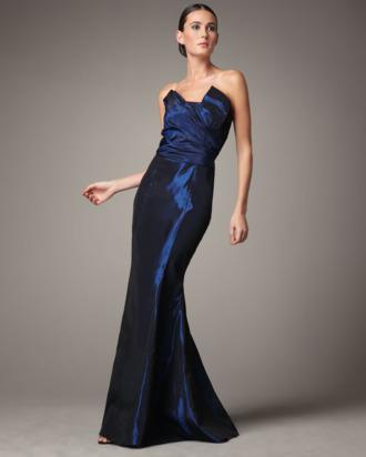 A dress by Vera Wang Lavender Label.