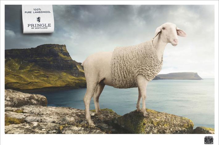 Wool sweater: model's own.