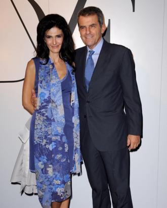 Ilaria Ferragamo and Ferruccio Ferragamo.