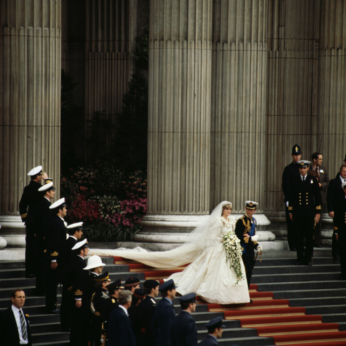Diana's wedding. Remember! Get excited!