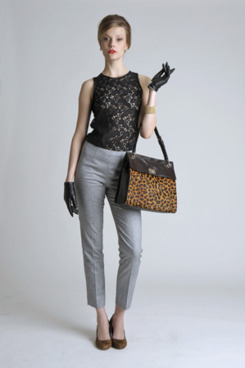 A look from the <em>Mad Men</em> collection.