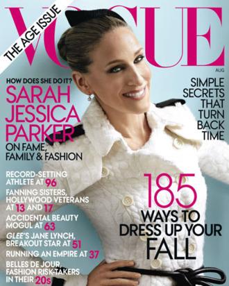 <em>Vogue</em>'s August cover.