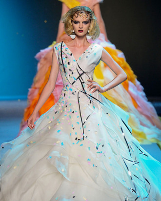 A look from Gaytten's recent Dior couture collection.