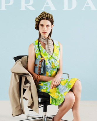 A look from Prada resort 2012.