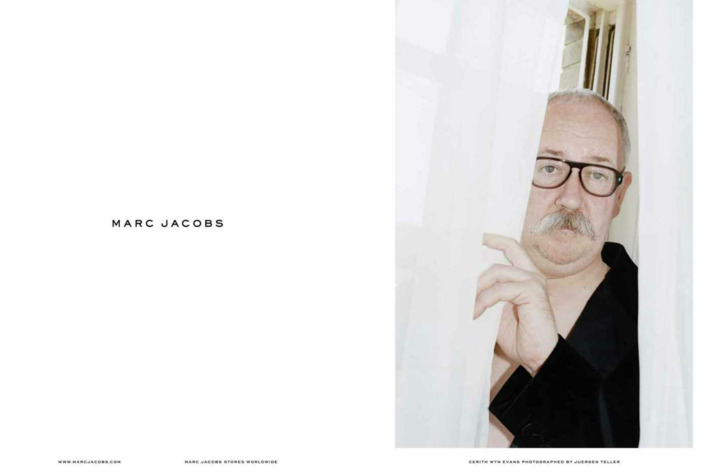 An image from Marc Jacobs's new menswear campaign.