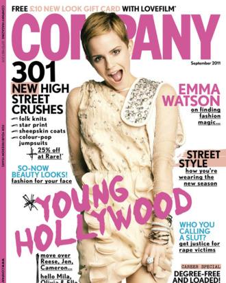 Emma Watson on Company Magazine.