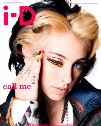 Kreayshawn, shot for <em>i-D</em> by George Harvey.
