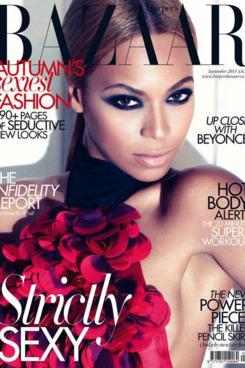 Beyoncé for Harper's Bazaar UK.