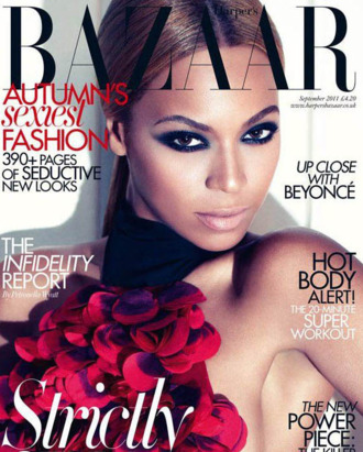 Beyoncé for Harper's Bazaar UK.
