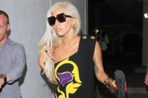 Lady Gaga leaving a recording studio in Hollywood, CA.         <P>         Pictured: Lady Gaga         <P>         <B>Ref: SPL303569  120811  </B><BR/>         Picture by: MAB / Splash News<BR/>         </P><P>         <B>Splash News and Pictures</B><BR/>         Los Angeles:310-821-2666<BR/>         New York:212-619-2666<BR/>         London:870-934-2666<BR/>         photodesk@splashnews.com<BR/>         </P>