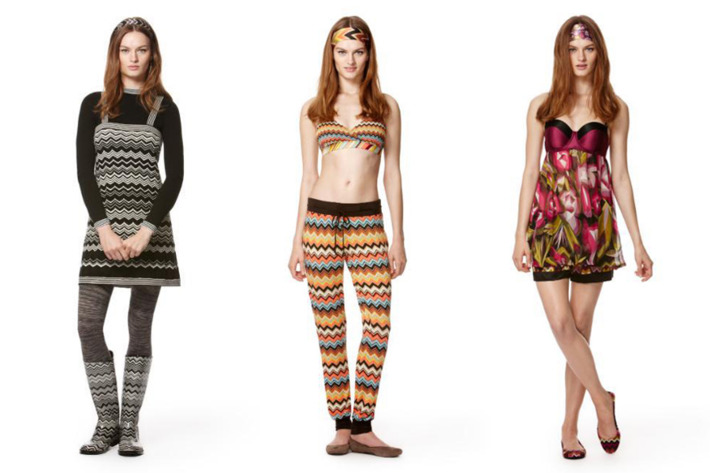 Three new looks from Missoni for Target.