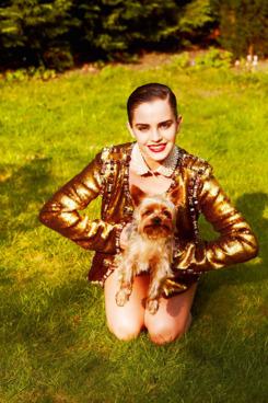 Emma Watson, shot by Mariano Vivanco.