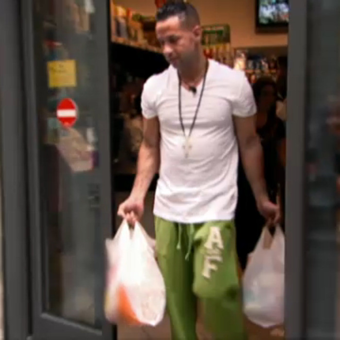 The Situation's sobering food.