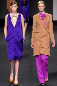 Looks from Brioni's final collection.