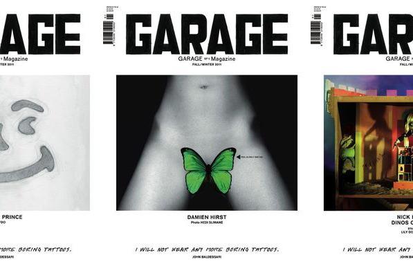 <em>Garage</em>'s three debut covers.