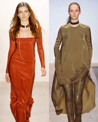 Fall 2011 looks from Vena Cava and Max Azria.