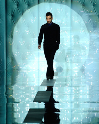 Marc Jacobs at his fall 2011 show in New York.