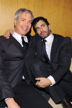 Robert Duffy and Marc Jacobs.