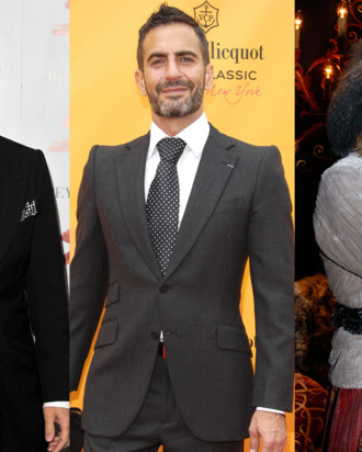 Tom Ford; Marc Jacobs; John Galliano.