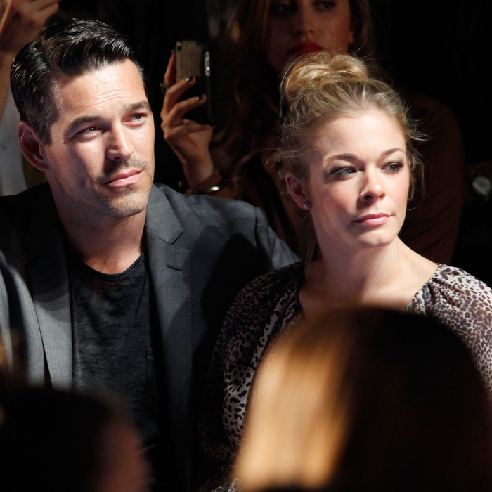 LeAnn Rimes and Eddie Cibrian.