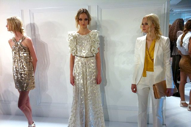 Looks from the Rachel Zoe collection, spring 2012.