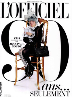 Tavi Gevinson Covers French L'Officiel's 90th Anniversary Issue