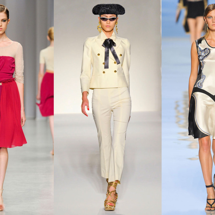 New looks for next spring from Antonio Marras, Moschino, and Etro.