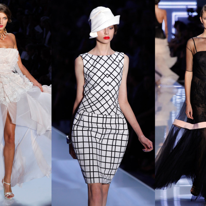 Spring 2012 looks from Christian Dior.