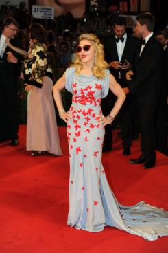 Madonna wearing Vionnet.