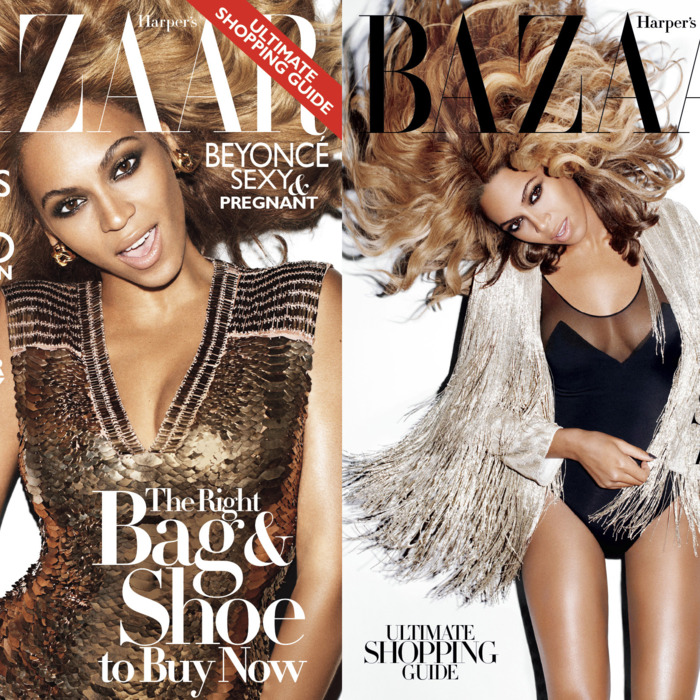Beyonc&#233; for <em>Harper's Bazaar.</em>