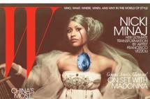 Nicki Minaj for <em>W</em> magazine.